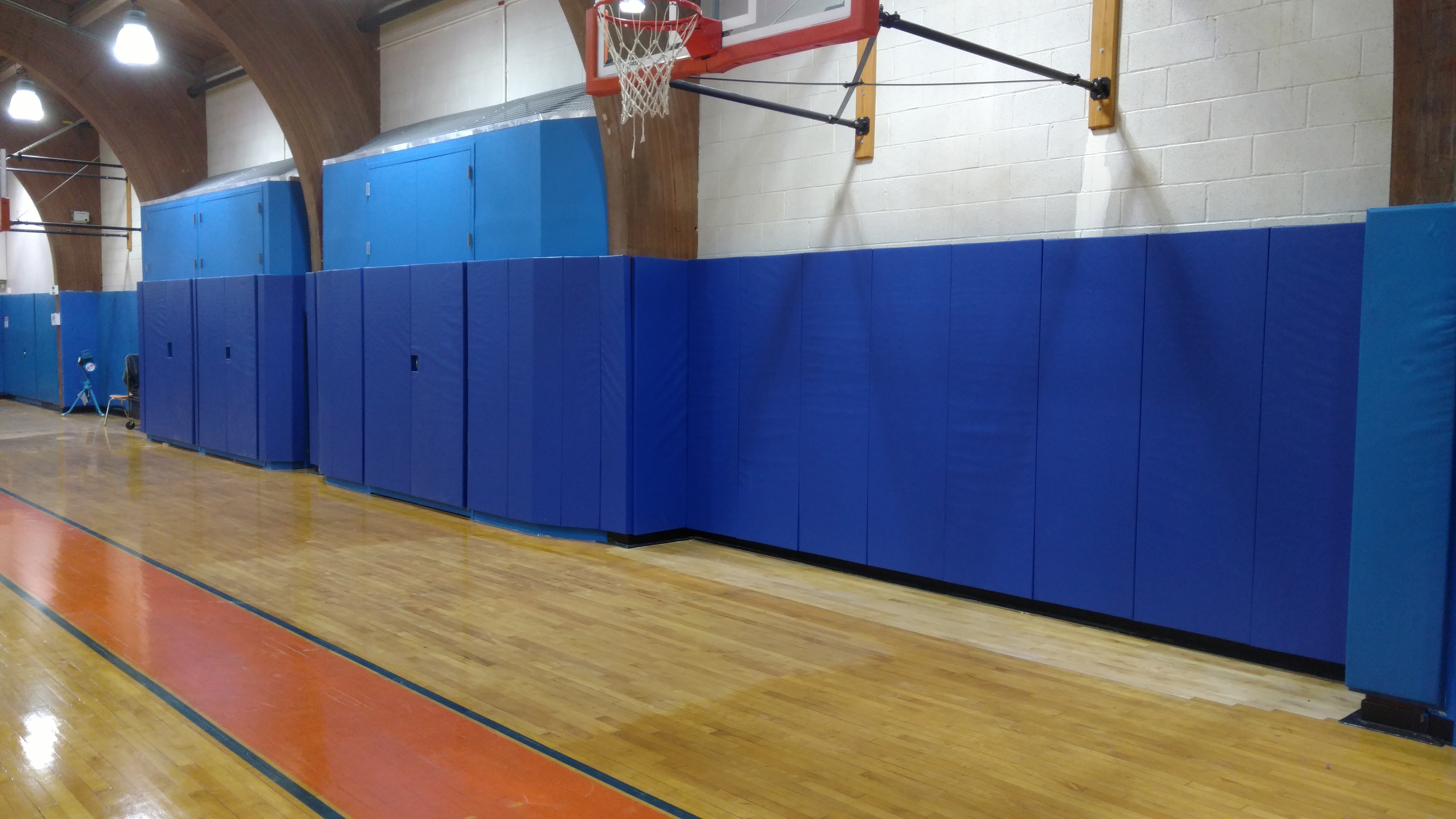 Gymnasium Wall Padding For Ethical Culture Fieldston School New York