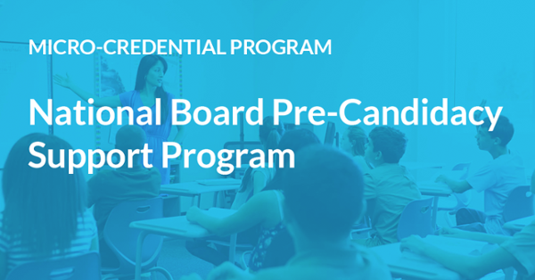 Program | National Board Pre-Candidacy