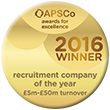 apsco recruitment company of the year 5-50m