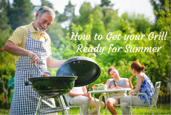 Get Your Grill On ~ How to get your grill ready for summer