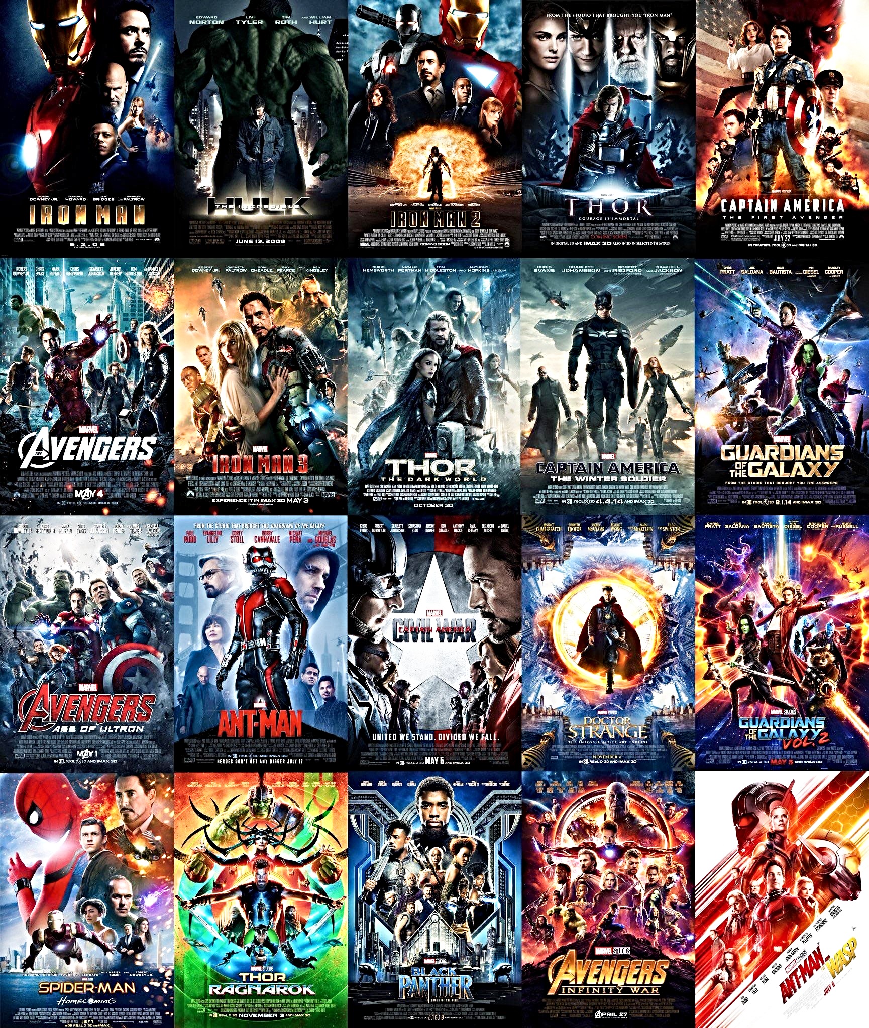 Marvel-movie-run-times-for-all-22-films-2019