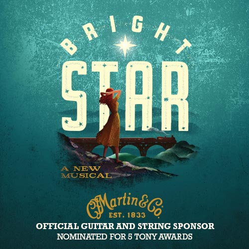 bright star: a new musical racks up tony award nominations