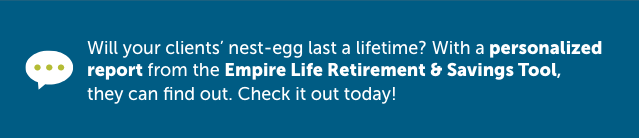 Empire Life Retirement & Savings Tool