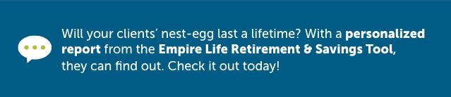Empire Life Retirement & Savings Tool