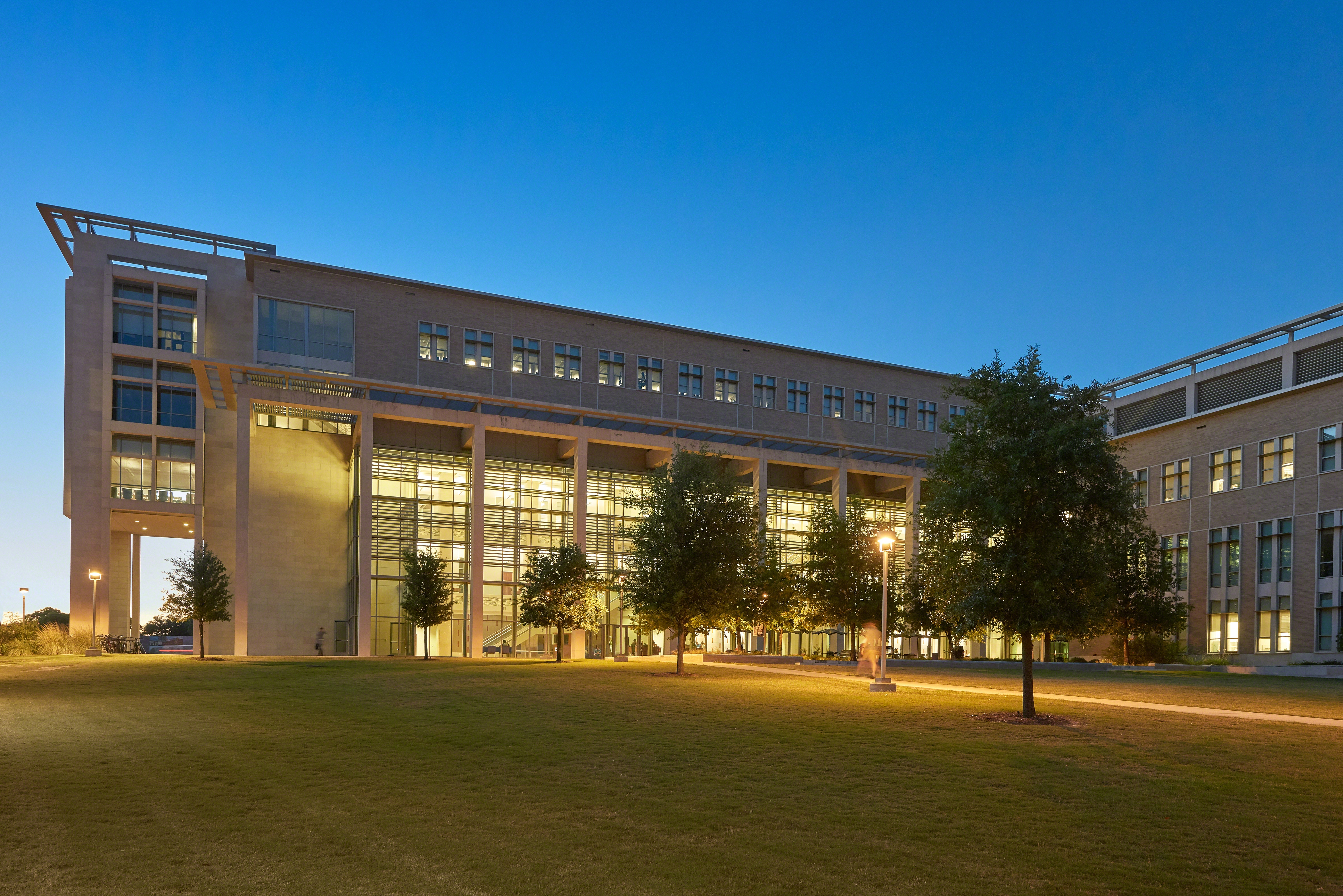 Zachry-Building-Lit-from-Campus-with-ThinkHub-Connect-inside (1)