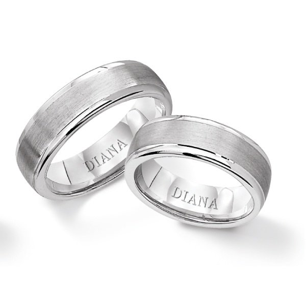 logo product - Silver Wedding Ring