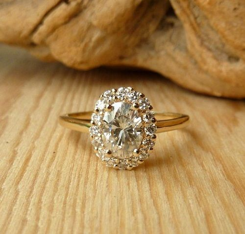 is yellow gold still popular for engagement or wedding rings