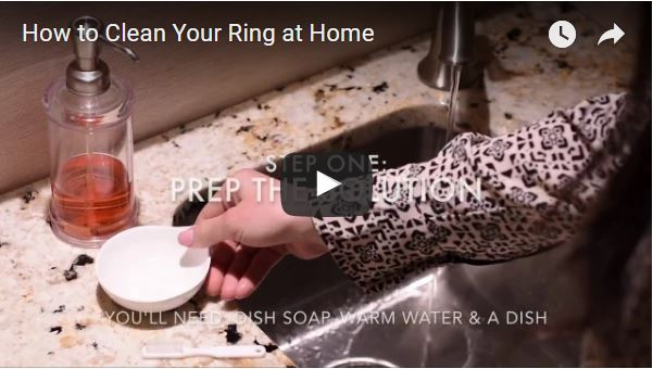 How To Clean Your Engagement Ring At Home [Video]