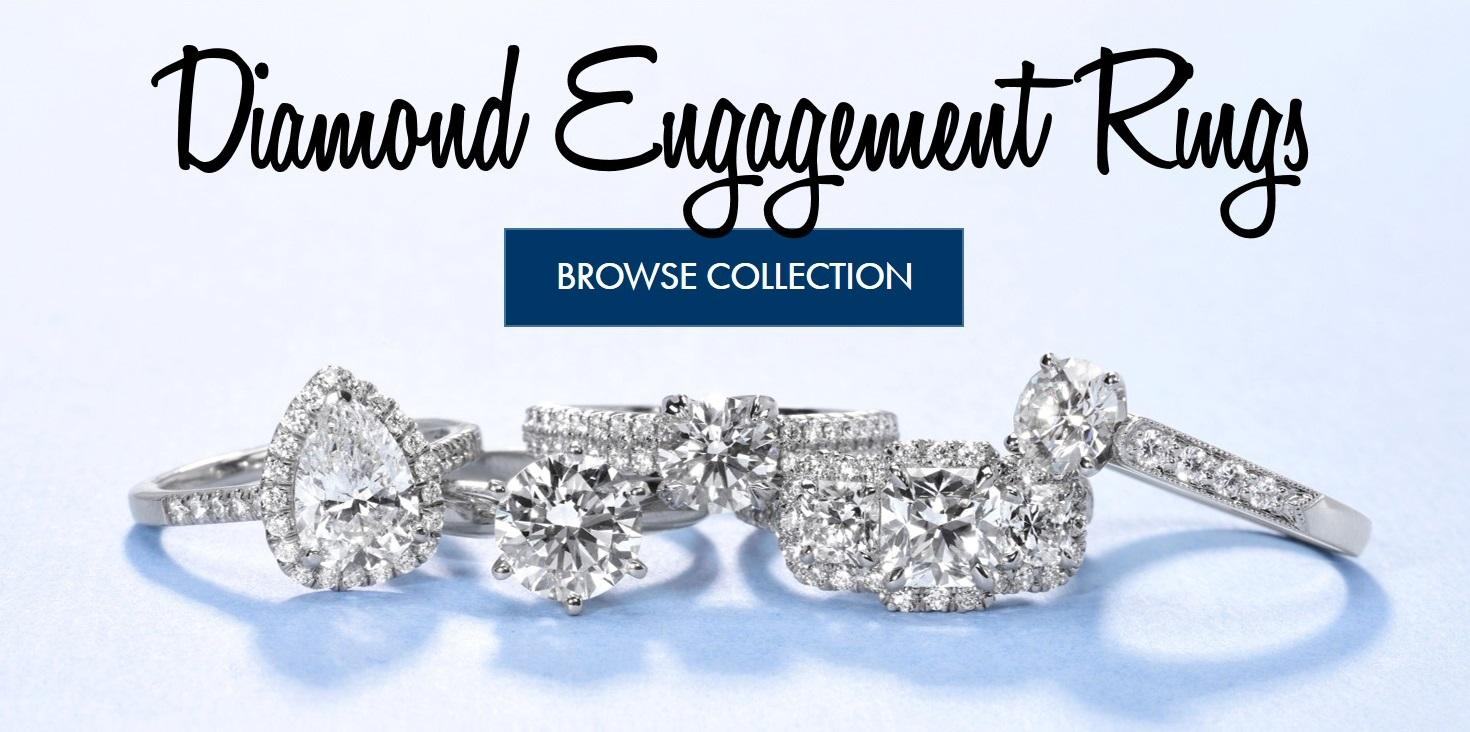 Diamond Engagement Rings  Browse Collection