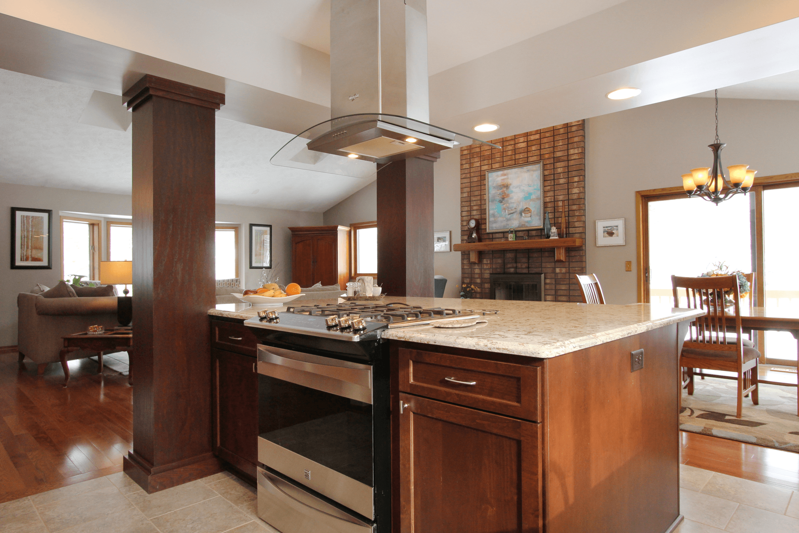 five tips for designing the functional kitchen island - kitchen island with cooktop