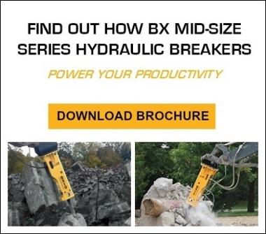 BX Series Hydraulic Breakers