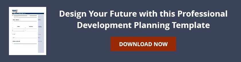 Design Your Future with this Professional Development Planning Template