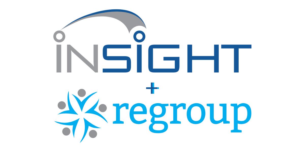 Insight + Regroup logo - Social