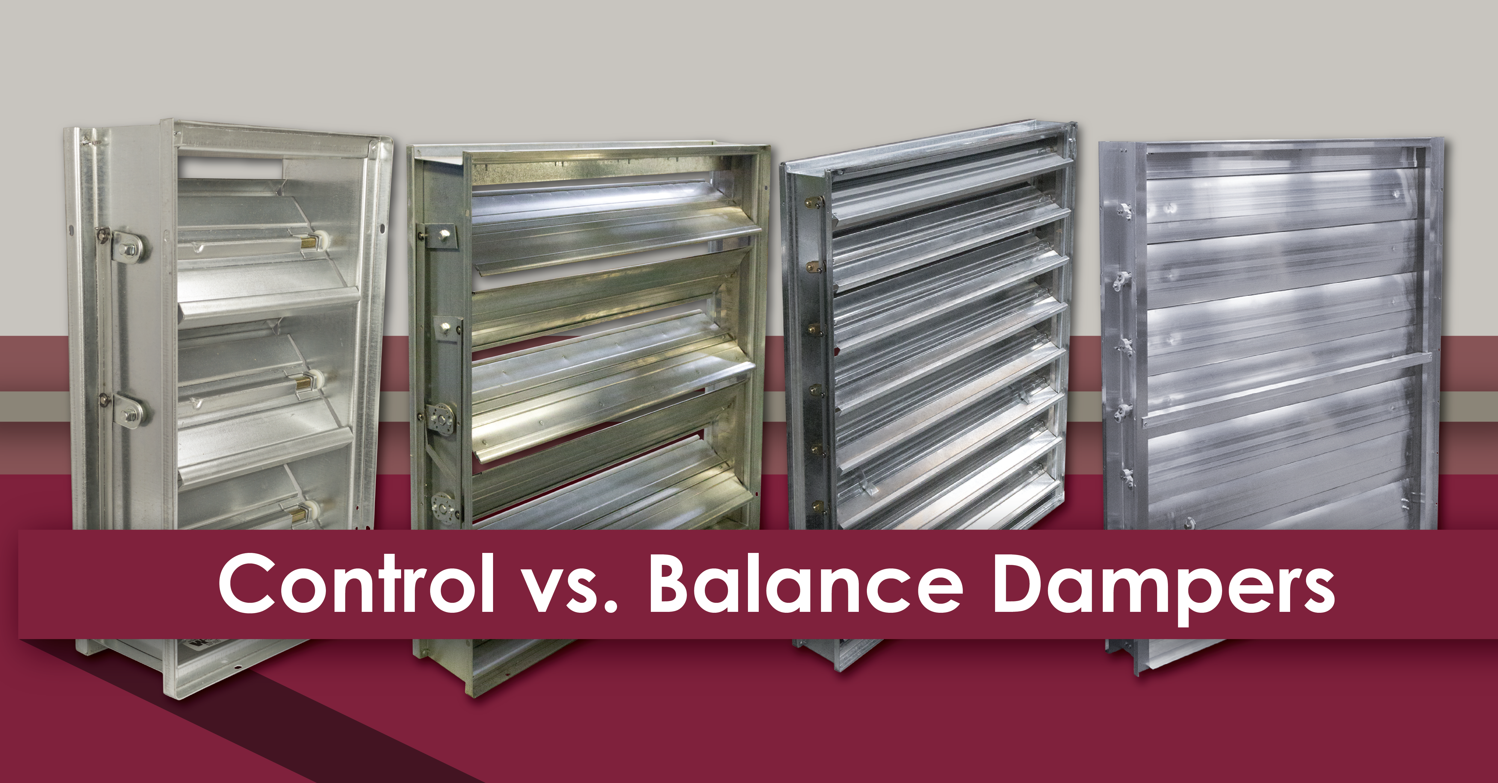 Control versus Balance - The Difference Between Dampers