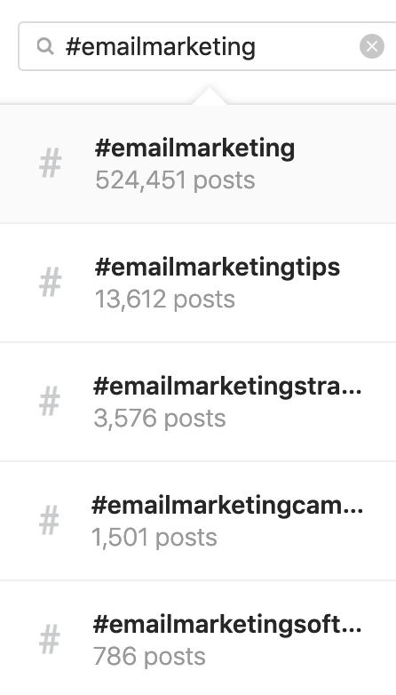 B2B Instagram Hashtags