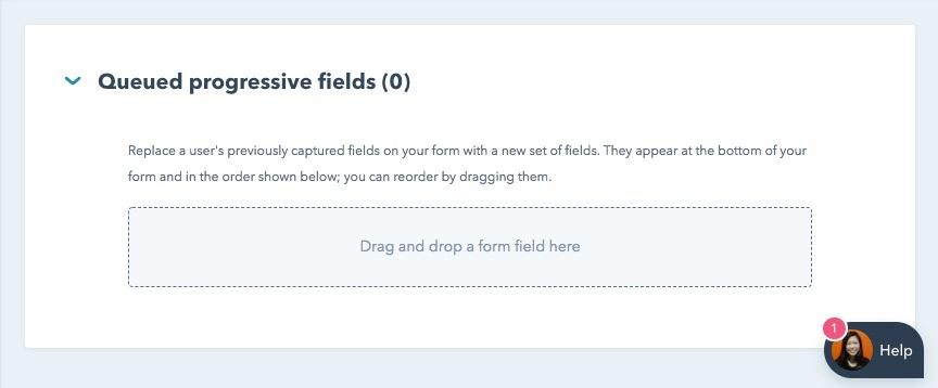 Progressive Fields