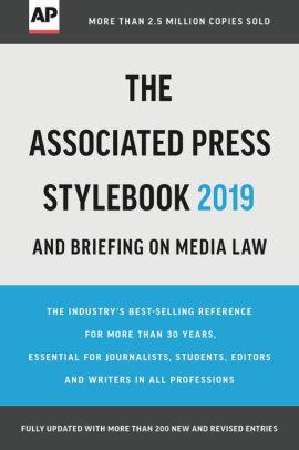 AP Stylebook 2019