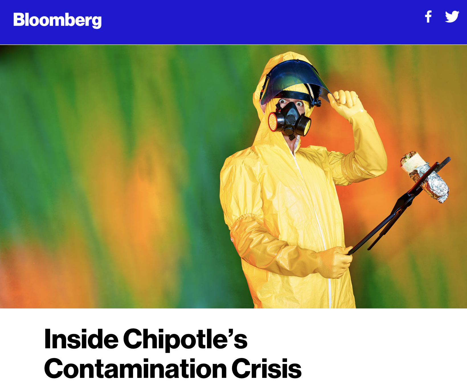 Bloomberg Inside Chipotle's Contamination Crisis Screen Capture