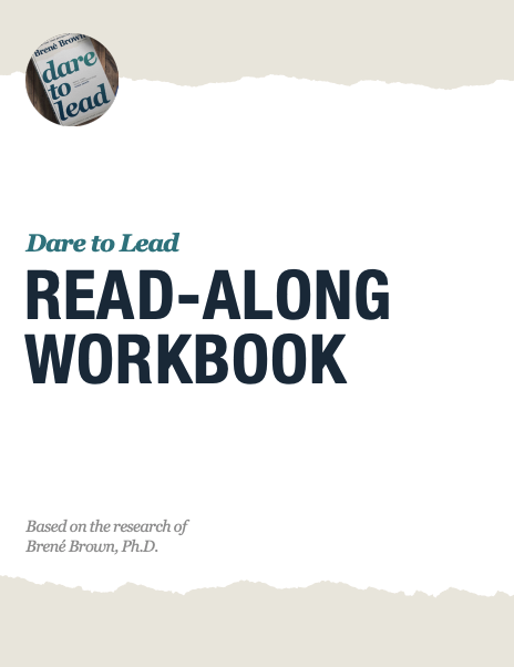 Brene brown dare to lead read along workbook