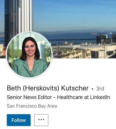 Linkedin Profile Mockup