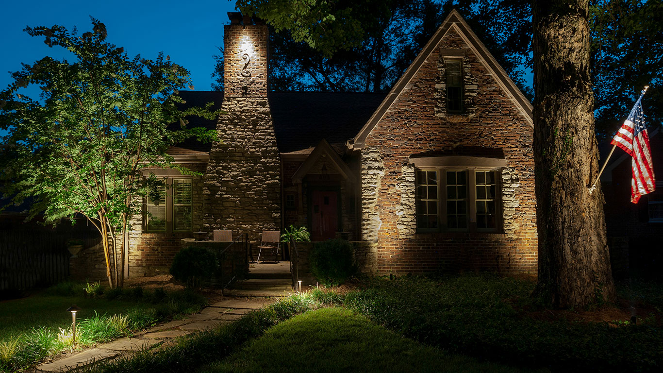 Blog light up nashville why up lighting is a better alternative to recessed soffit lighting aloadofball Image collections