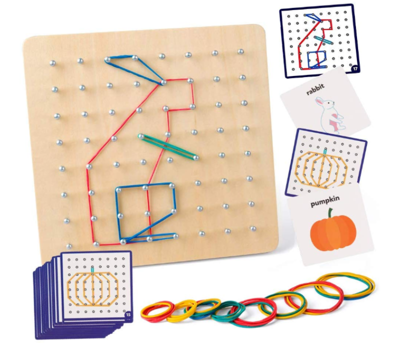 Montessori Wood Geoboard