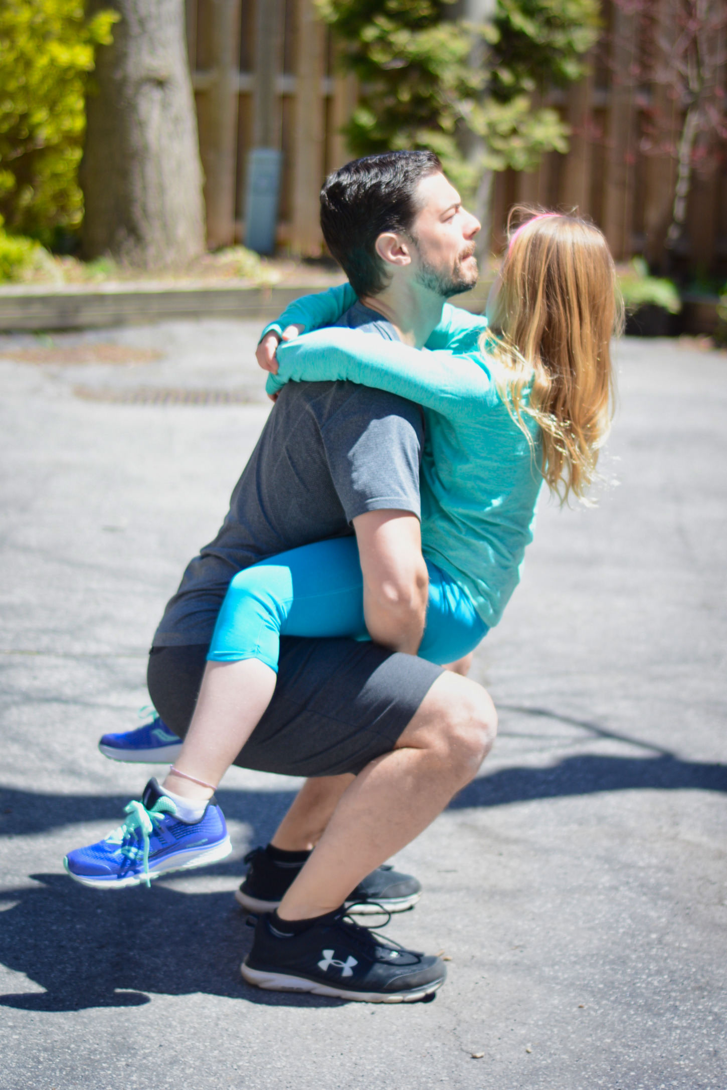 Squat - Frontcarry
