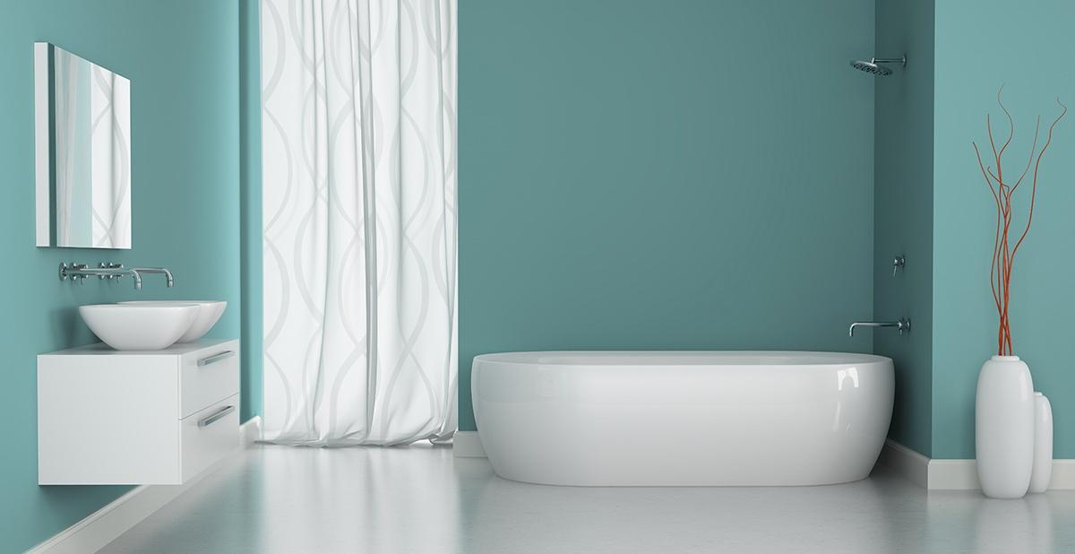 5 cose da sapere per scegliere la pittura per il bagno caparol media colore decorazione - Smalto piastrelle bagno ...