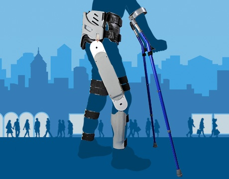 Powered exoskeletons are helping stroke victims