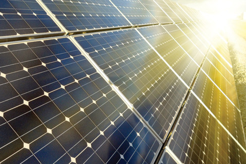 Solar panels can be made much more efficient by converting the light they absorb