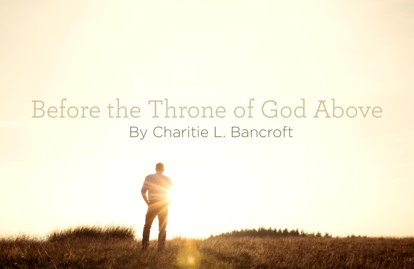 "Hymn: ""Before the Throne of God Above"" by Charitie L. Bancroft Empty Throne Wallpaper"