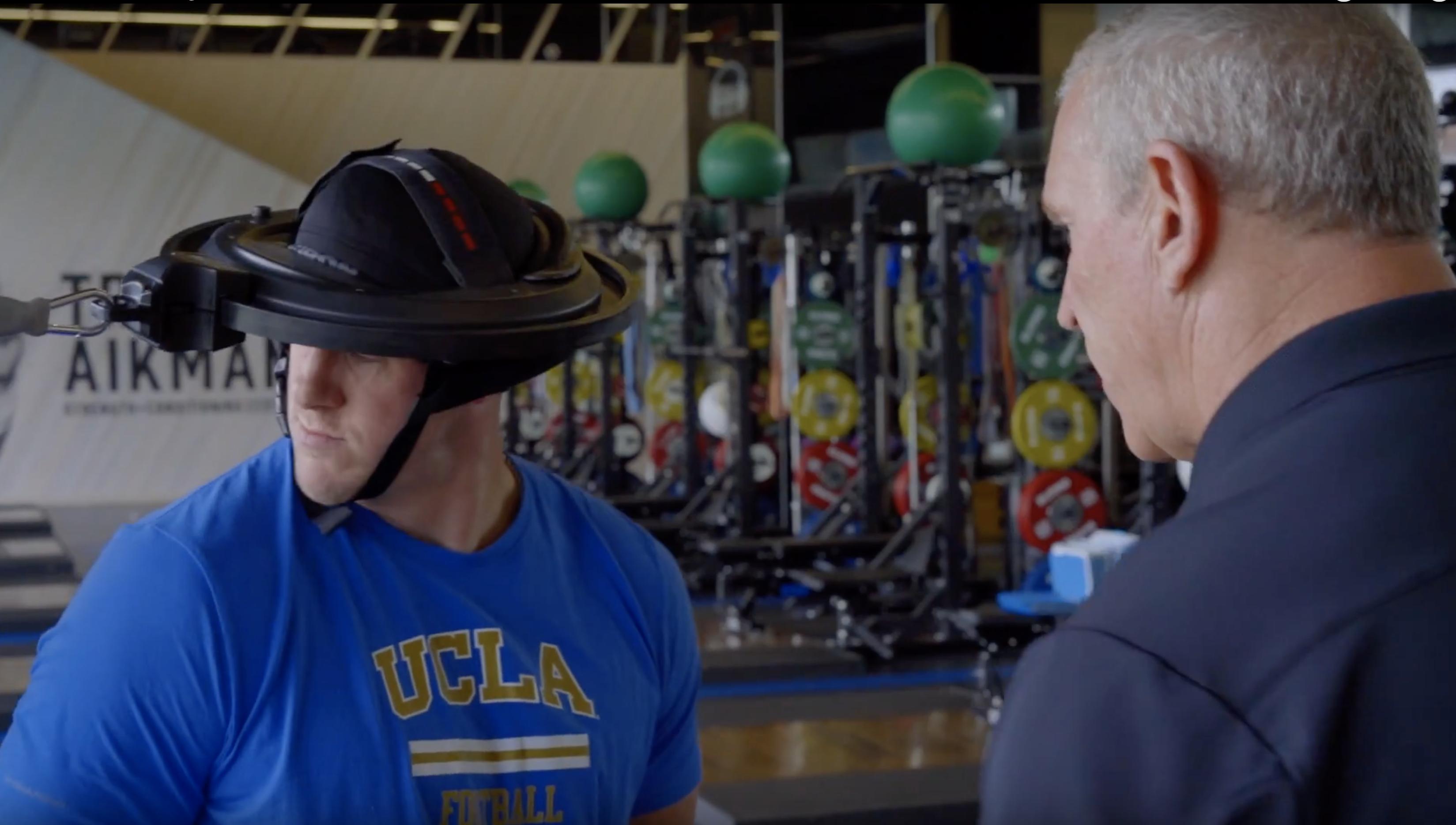 UCLA Iron Neck workout