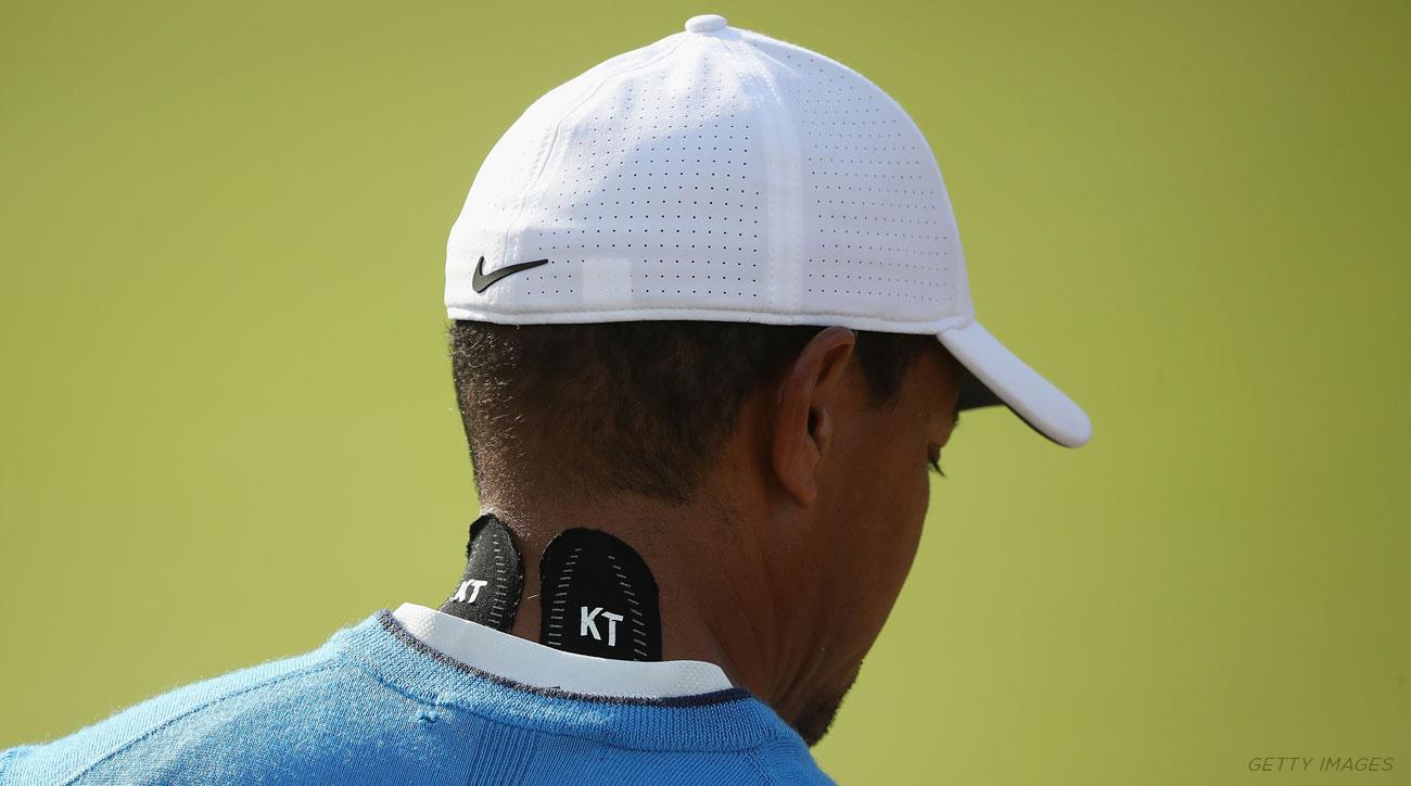 Tiger Woods Neck