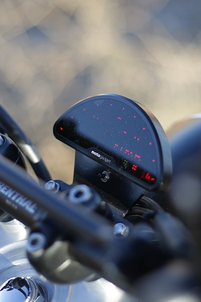Bonneville Speedometer