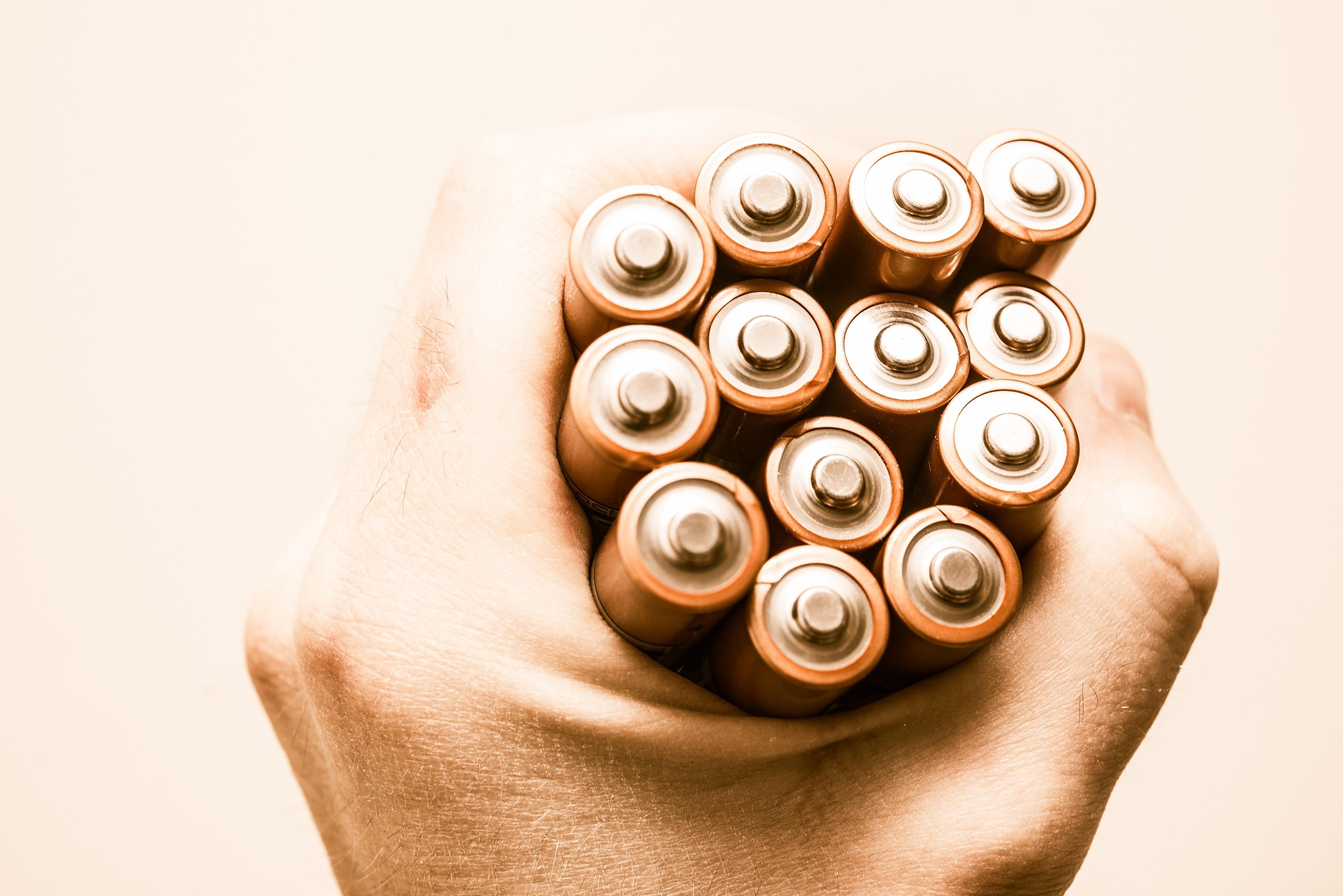 bewaren batterijen