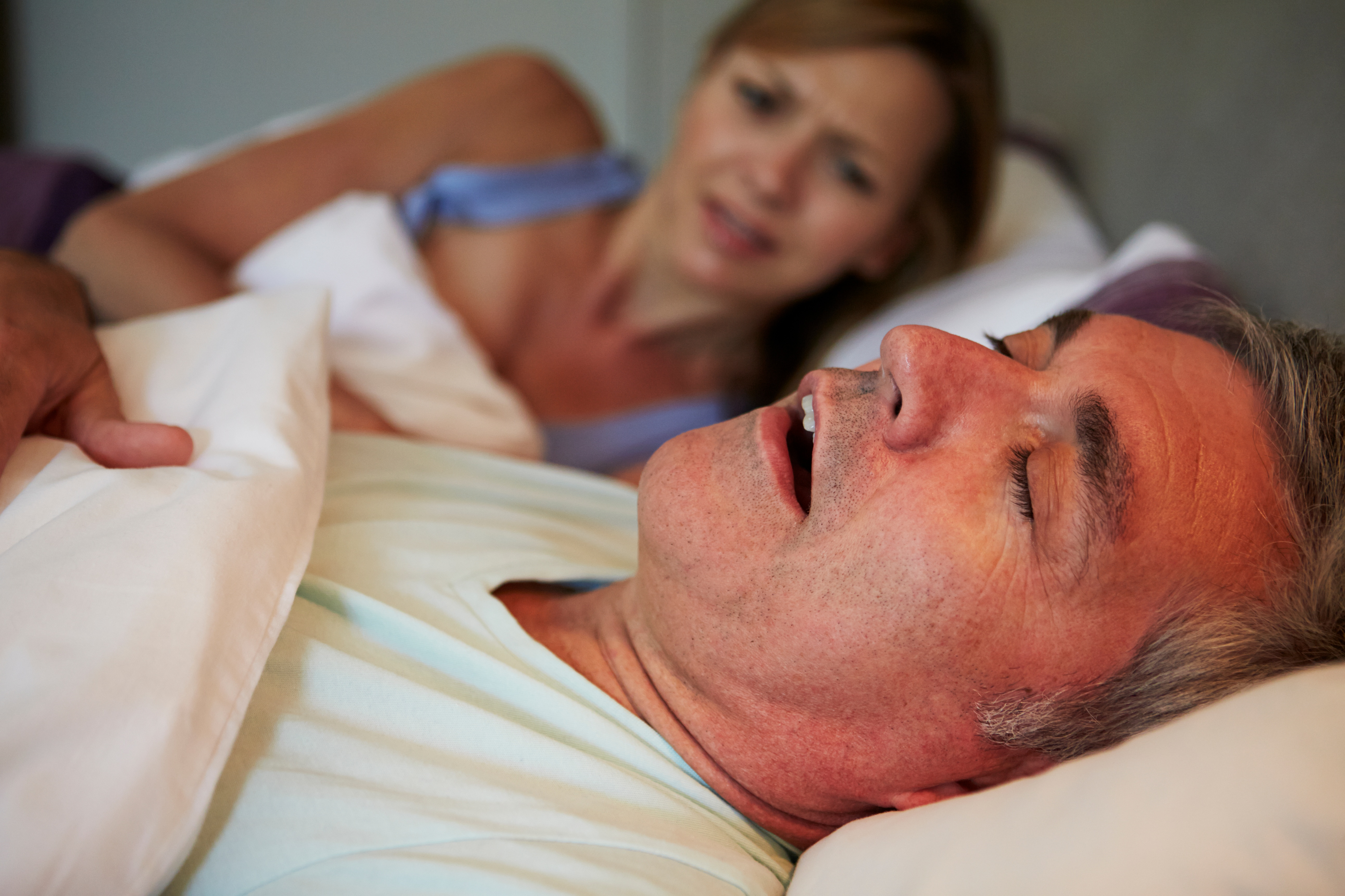 Is snoring an innocent part of sleep or is it a symptom of something more serious?
