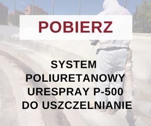 System poliuretanowy Urespray P-500 do uszczelnianie
