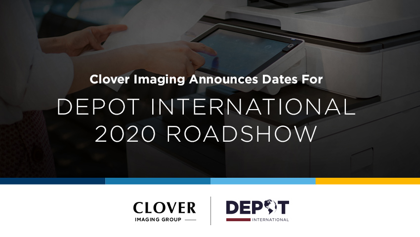 Image result for Clover Imaging Announces Dates for Depot International 2020 Roadshow.