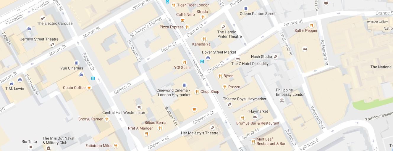 Central London Google Map.Recent Google Maps Updates What You Should Know