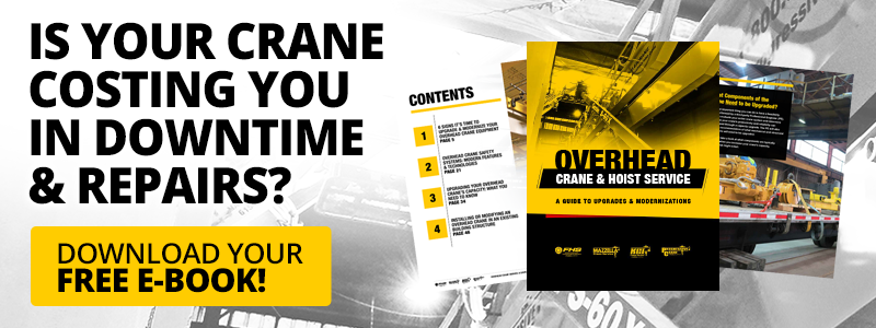 overhead crane upgrade & modernization e-book