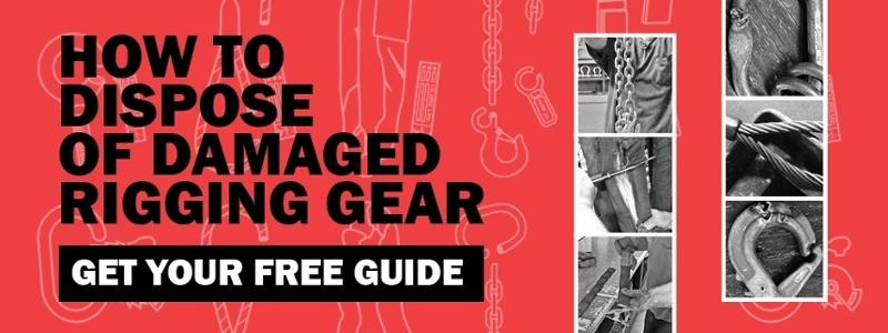 disposal of rigging gear