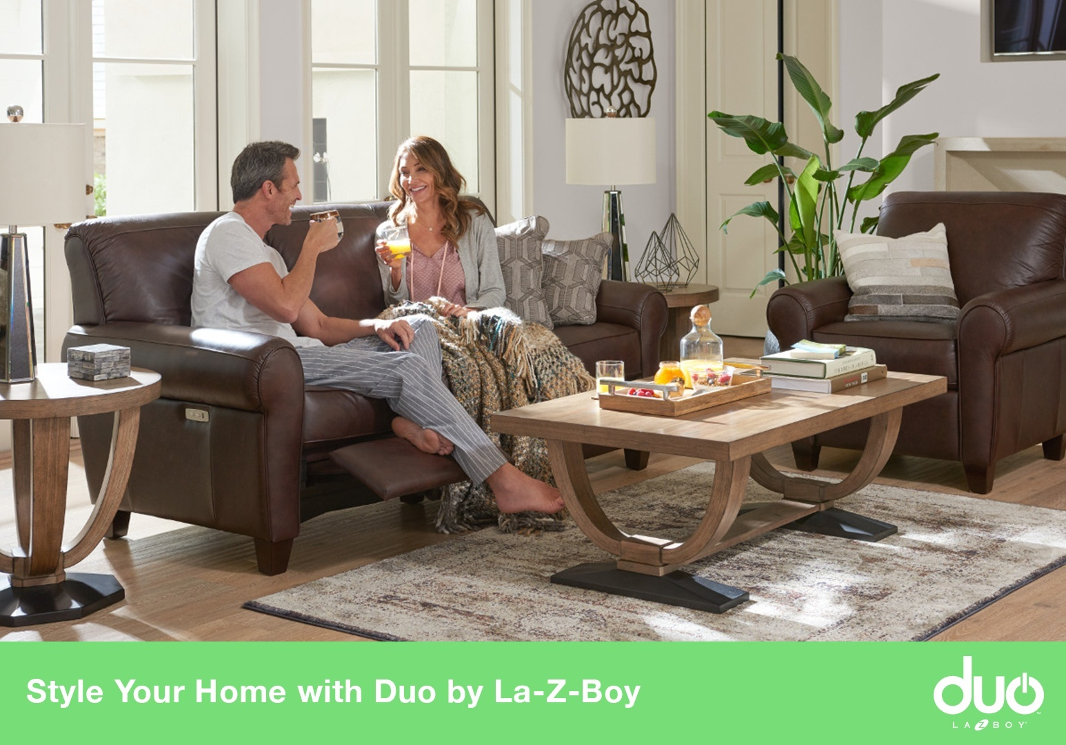 Style Your Home With Duo By La Z Boy