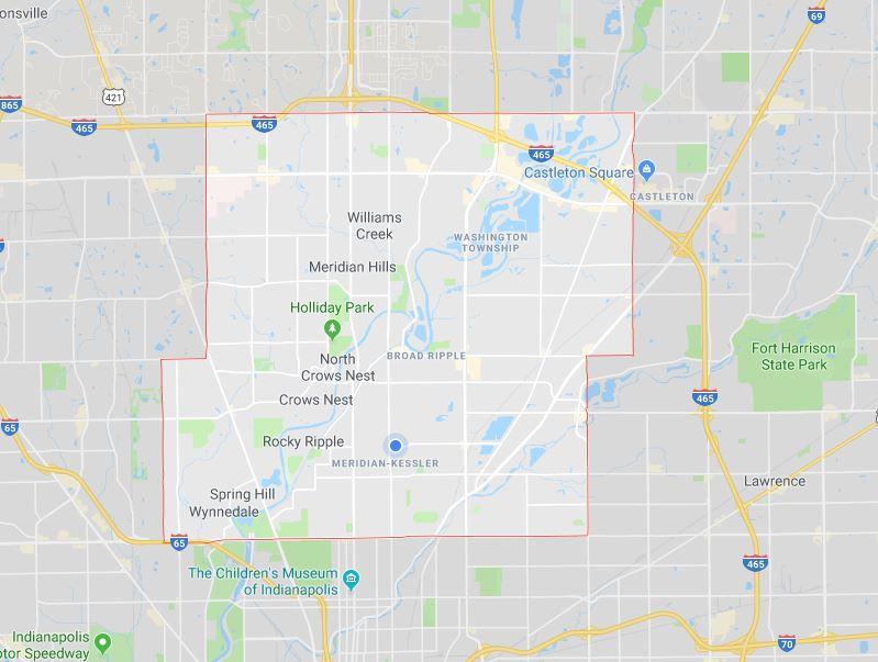 Washington Township Map Outline
