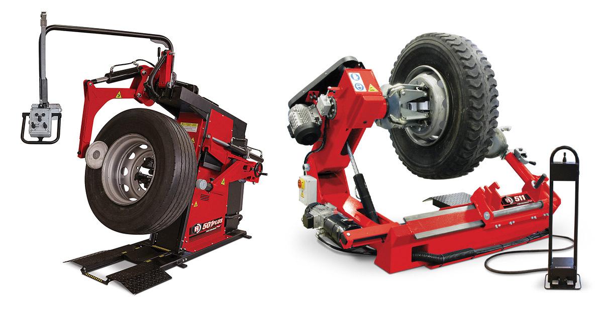 R511 heavy duty tire changer