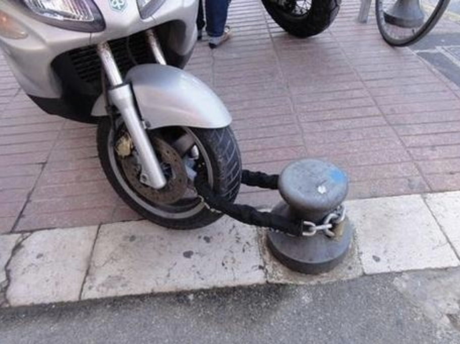 Motorcycle Lock
