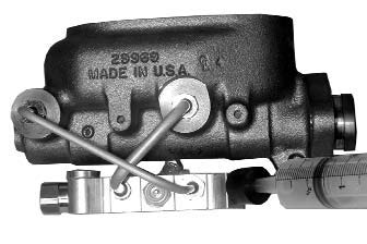 How To Series: Syringe Bleeding the Master Cylinder