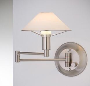Holtkoetter's Swing Arm lamp makes a great reading light.