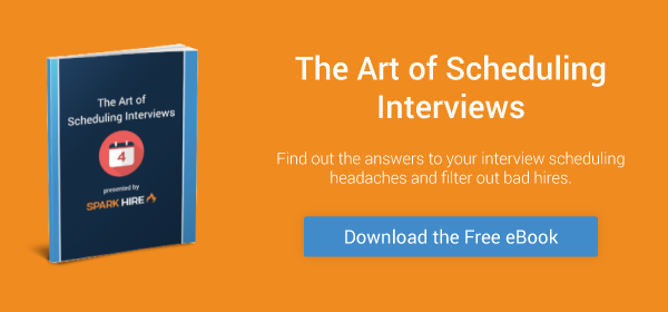 The Art of Scheduling Interviews