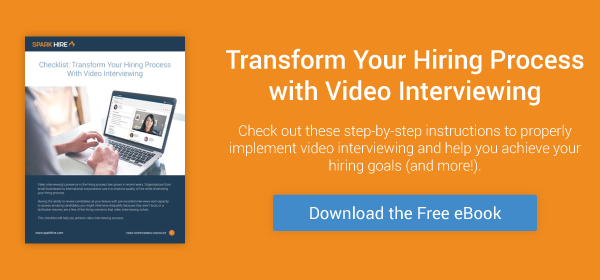 Transform Your Hiring Process with Video Interviewing