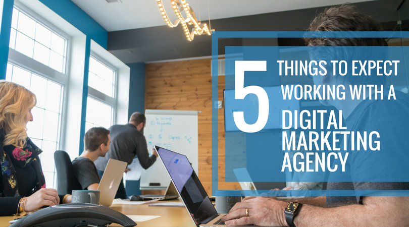 5 Things to Expect Working with a Digital Marketing Agency